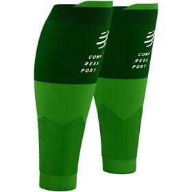 Compressport R2V2 Calf Sleeves Summer Refresh 2021 opal/dynasty green